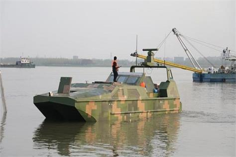 china built unmanned warships