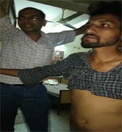 mess contractor was intoxicated in college hostel