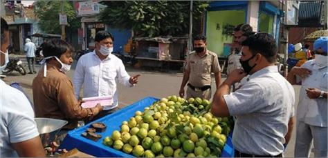 encroachment from removal of markets
