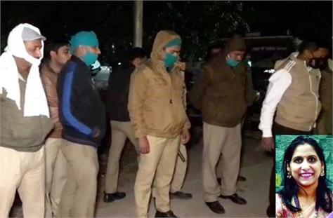 doctor murdered in agra up police arrested accused