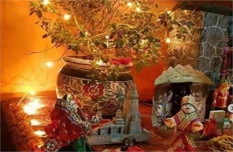 remember these things during tulsi puja
