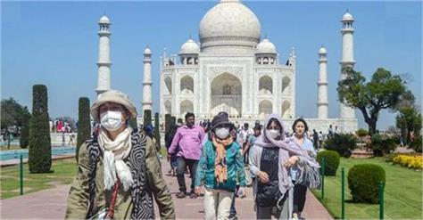 demand for the taj mahal to be opened by 11 am for tourists lok sabha