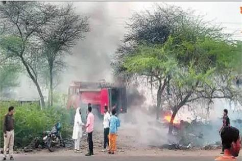encroachment fires in the city s green belt burning dozens of trees