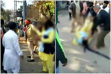 granthi singh was beaten up in mansa bhai longowal condemned in harsh words