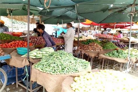 vegetables sold at more than double the rate in the town public upset