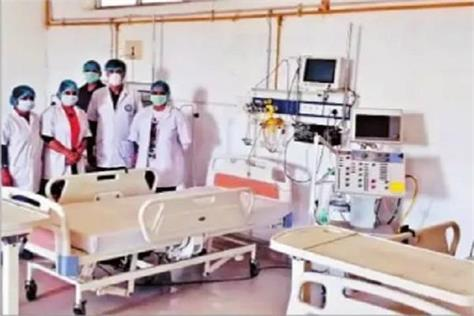 pdmu has provided 80 isolation beds in the hospital