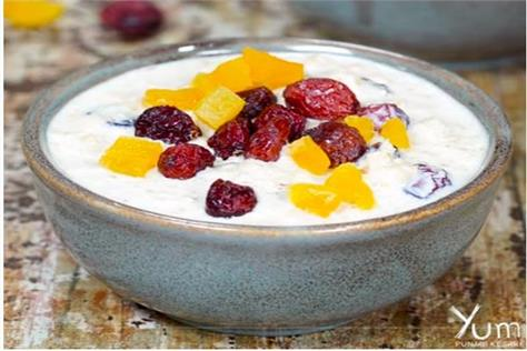 how to make oatmeal with dried fruits