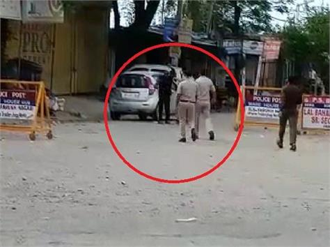 policeman beaten up a doctor video goes viral