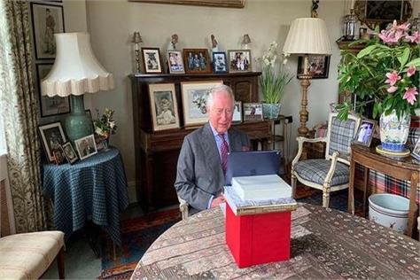prince charles of britain inaugurates nightingale hospital via video link