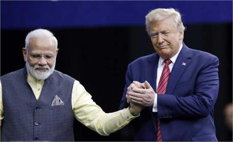 trump said  i like pm modi very much doing great work