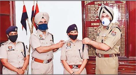 2 ips women officers promoted bhullar congratulated