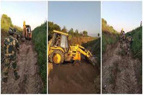 bsf clean ranbir canal amid pak criticism