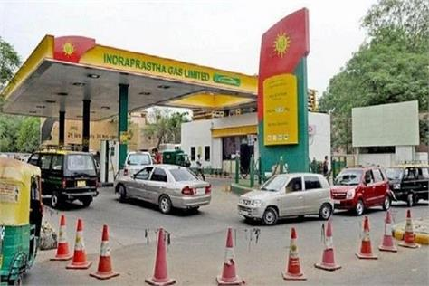 shock of people of delhi ncr cng becomes expensive