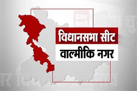 valmiki nagar assembly seat results 2015 2010 2005 bihar election 2020