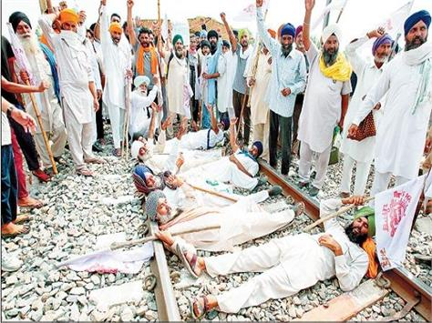 farmer protest against agriculture ordinance