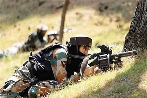 pakistani army fired in three sectors of poonch