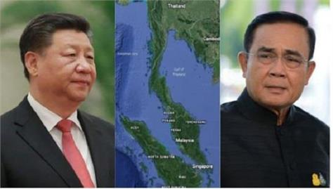 thailand canceled canal project with china due to pressure