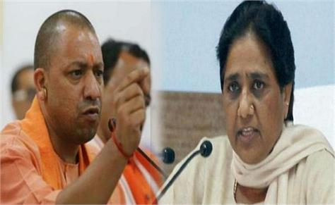 yogi government on backfoot after mayawati s protest