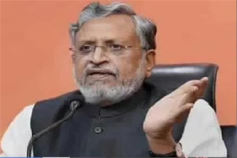 sushil modi targeted on opposition