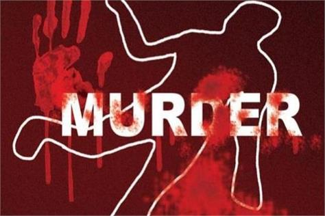 dead body of a youth found in blood soaked condition accused in cctv of murder