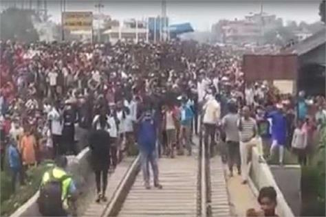 rail from india received a huge welcome in nepal