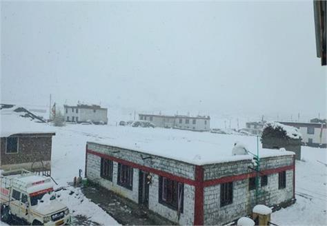 rain and snowfall continues in himachal weather patterns will worsen till 19
