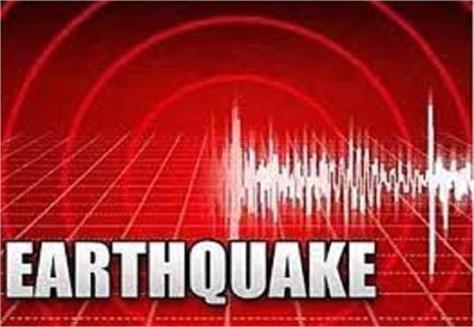 earthquake tremors were felt again in himachal