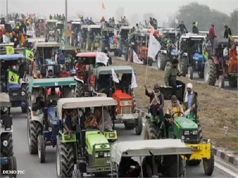 know what is the plan of farmers about the tractor parade