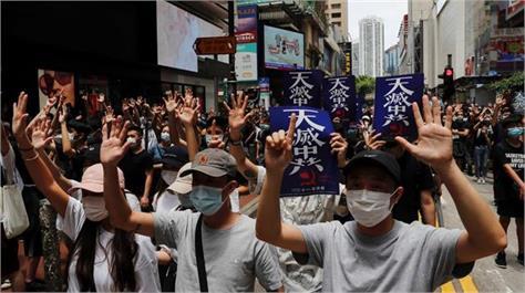 us canada uk australia condemn hong kong arrests of activists