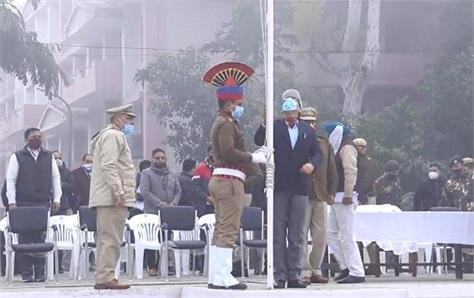 the venue of republic day celebrations changed due to farmer movement
