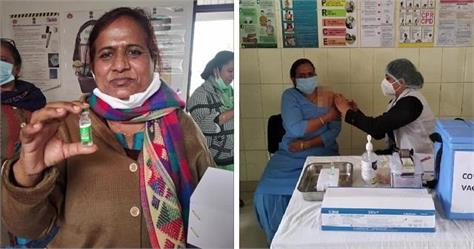 health worker who gets corona vaccine died suddenly