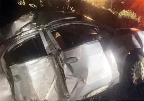 car accident death of couple