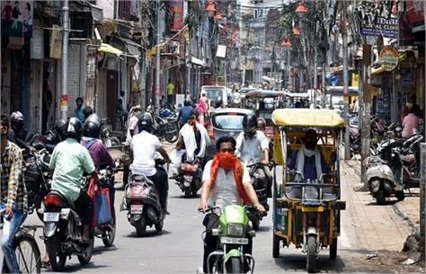 india closed in prayagraj ineffective traders open shops since morning