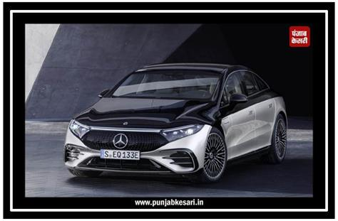 all electric mercedes benz eqs revealed