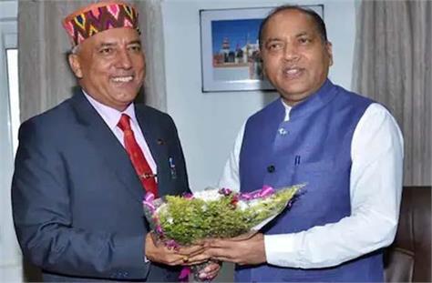 brigadier khushal thakur met cm jairam name revealed for ticket
