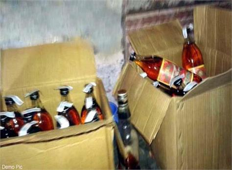 liquor consignment recovered from car
