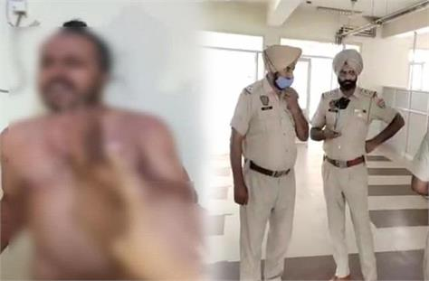 big action on asi caught red handed with woman in rape case