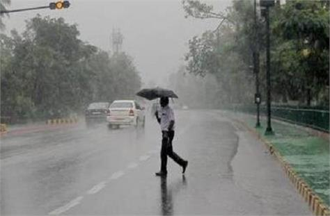 impact of cyclone tout light rain in bundelkhand including jhansi