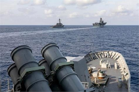 china criticizes us and australia naval exercises in south china sea