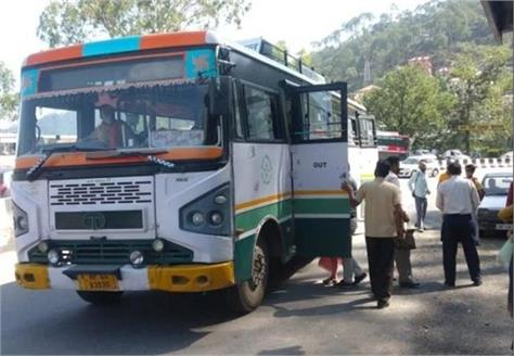 hrtc buses ran on the routes of himachal relief to the people