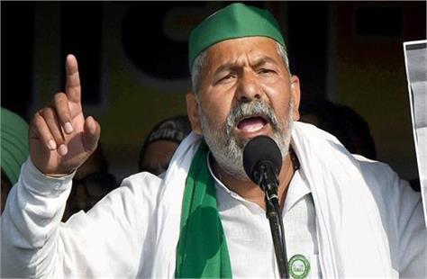 rakesh tikait s big announcement said  like delhi will siege lucknow
