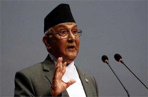 nepal s pm kp sharma oli said  yoga did not originate in india
