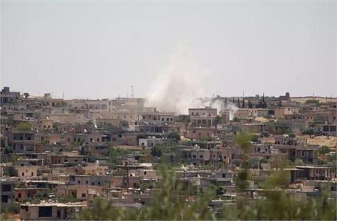 violence in rebel held territory in syria kills 10
