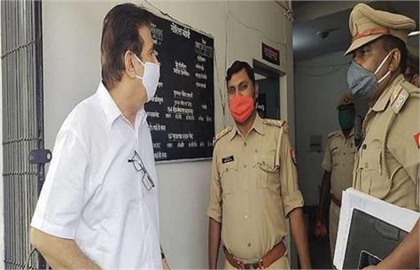case bodies at ganga ghat former ias suryapratap recorded the statement