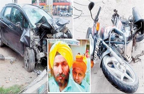 death of father and son returning home after serving from gurdwara sahib