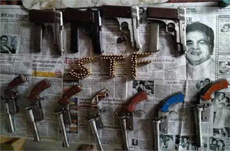five smugglers arrested with weapons in khagaria