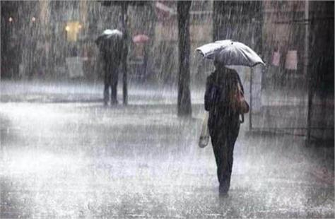 rain alert in these districts of haryana today