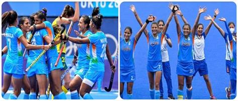 today indian women s hockey team will compete with argentina in the semi finals