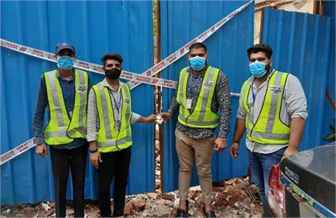 municipal corporation to demolish the house