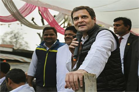 rahul aims at the simple modi